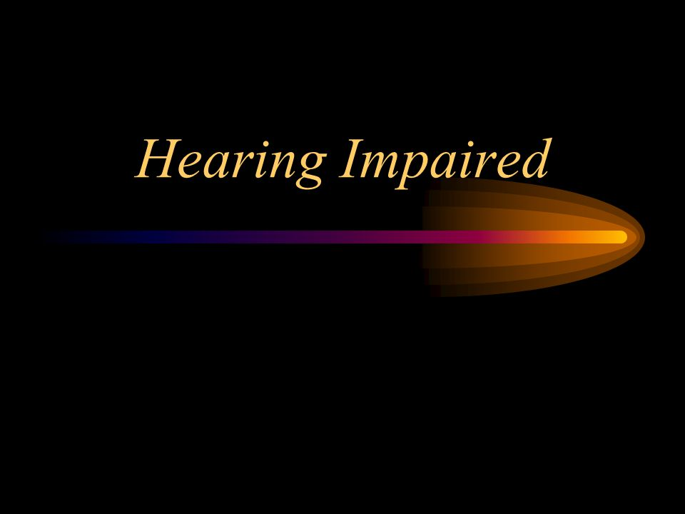 learning and the hearing impaired Various assistive technology and devices are available to the deaf and hearing impaired this article lists a few of the auditory and non-auditory devices available to improve communication in the lives of the deaf and the hard of hearing.