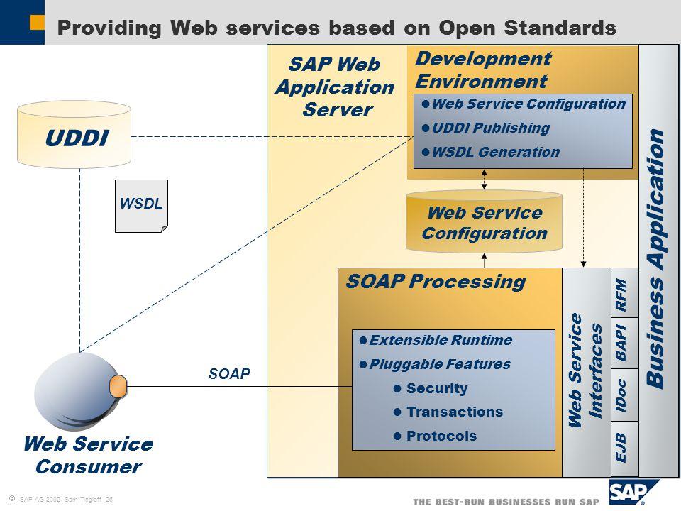 SAP Web AS – Java Administration and Development Tools Sam