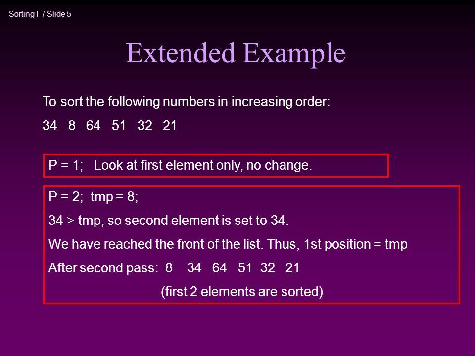 insertion sort merge sort comp171 fall sorting i slide 2