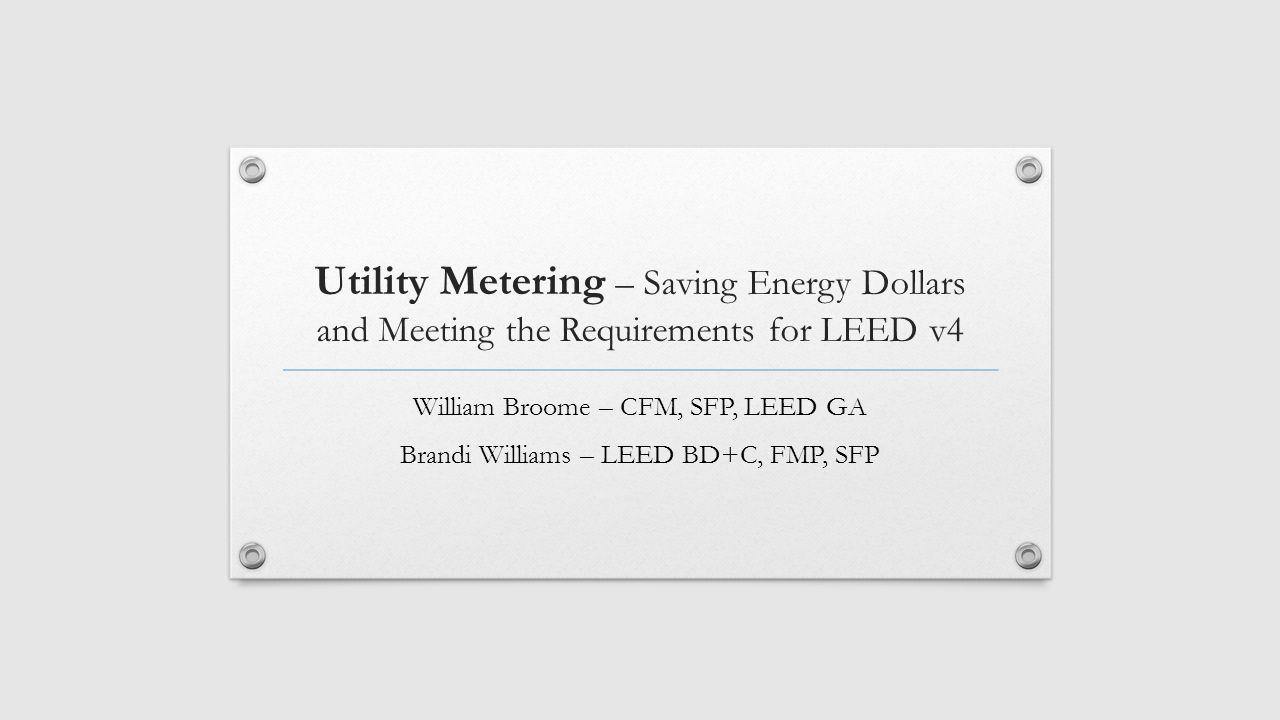 Utility Metering Saving Energy Dollars And Meeting The