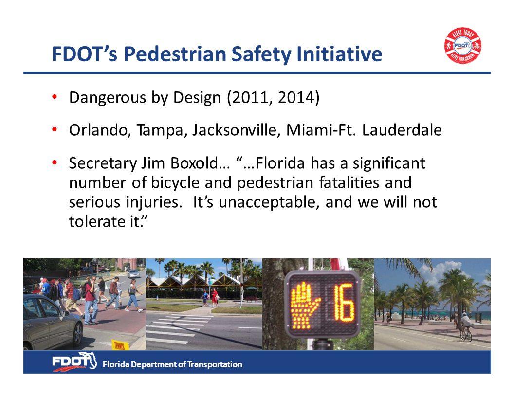 FDOT Bicycle/Pedestrian Focused Initiative & Complete