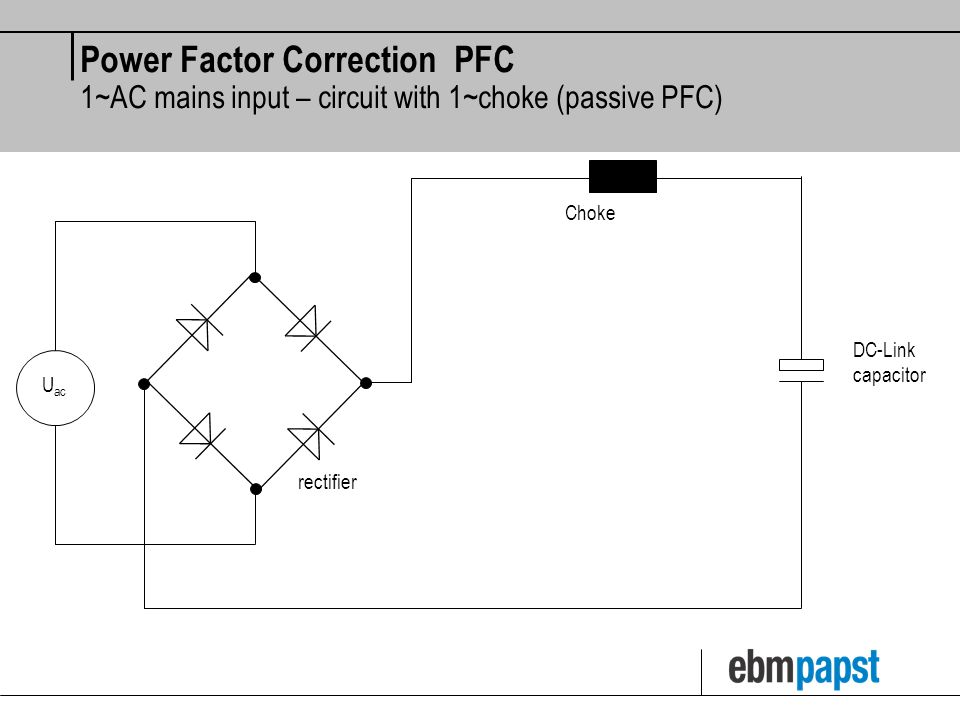 Active Power in 1~AC mains Apparent / Reactive / Active