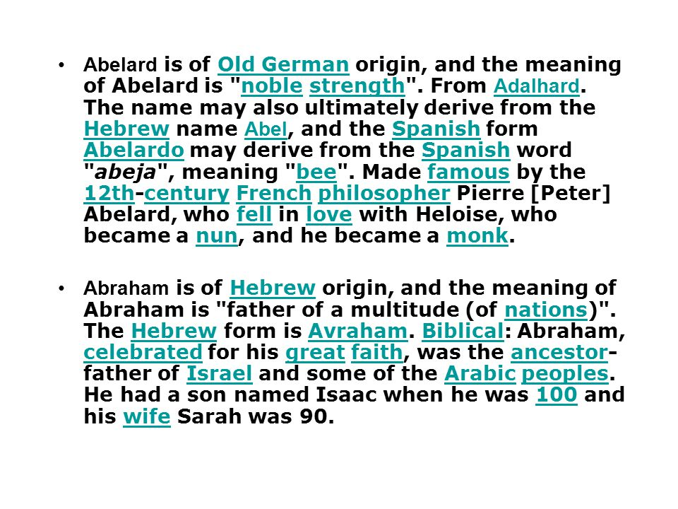 Names and Terms in English : Meaning and Origin compiled by