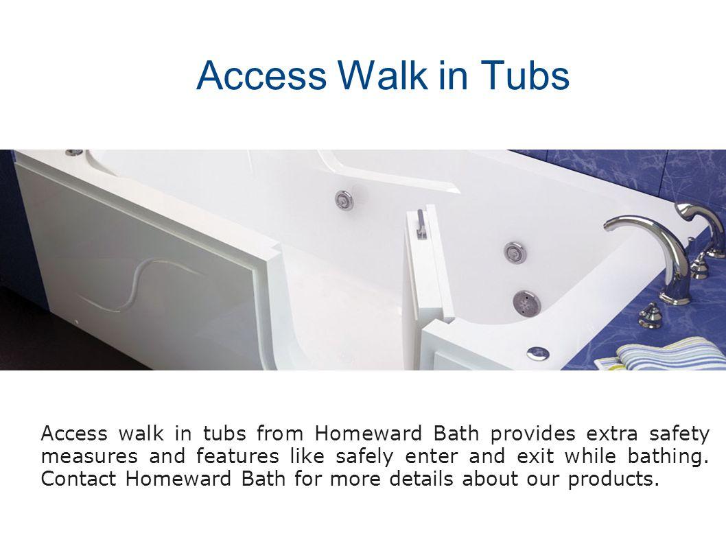 Hydrolife Deluxe Walk-in Tub Accessible Bathtubs Neptune Series Sit ...