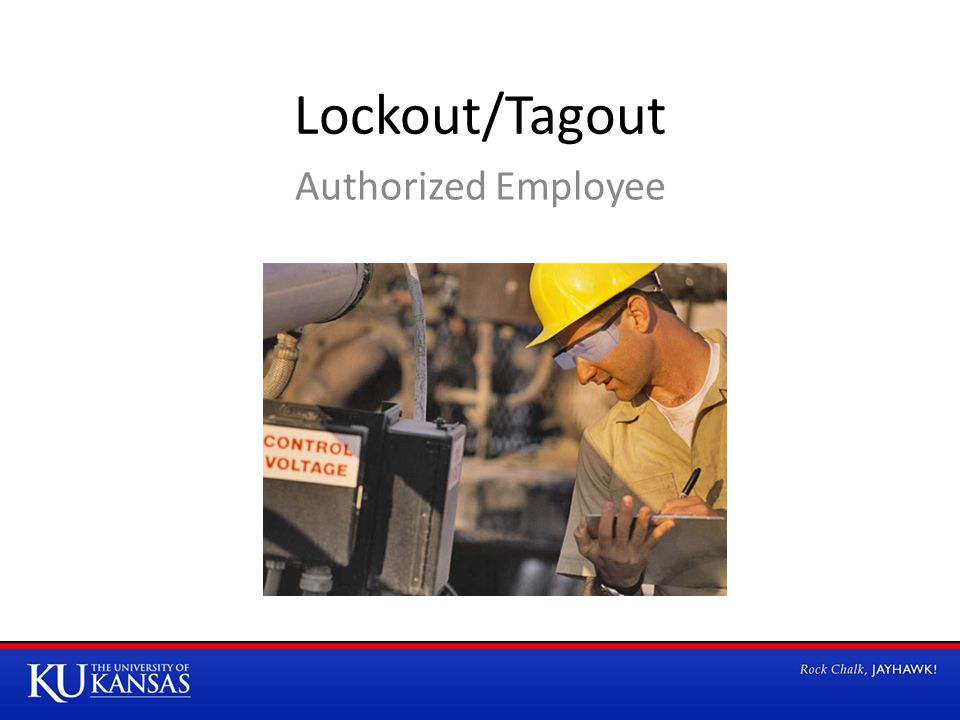 Lockout/Tagout Authorized Employee