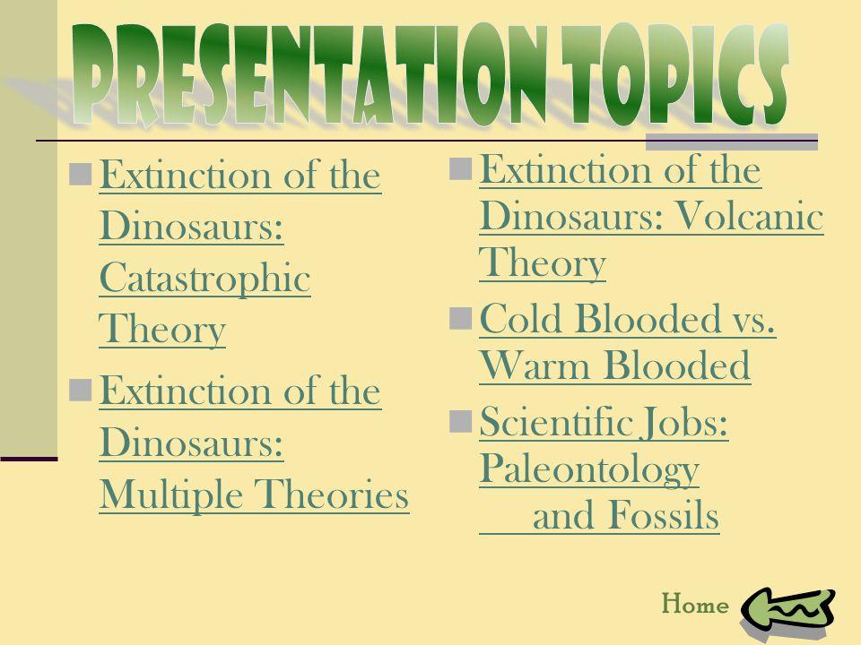 paleontology topic