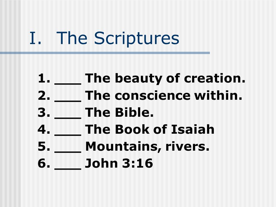baptist faith and message article 1 the scriptures ppt download