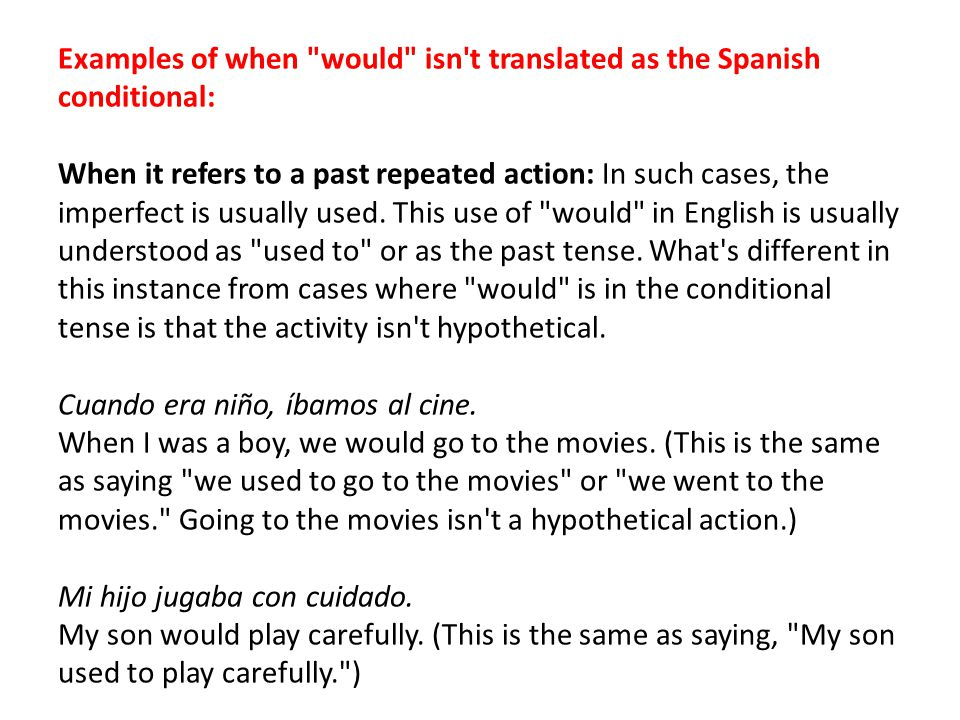 conditional tense examples