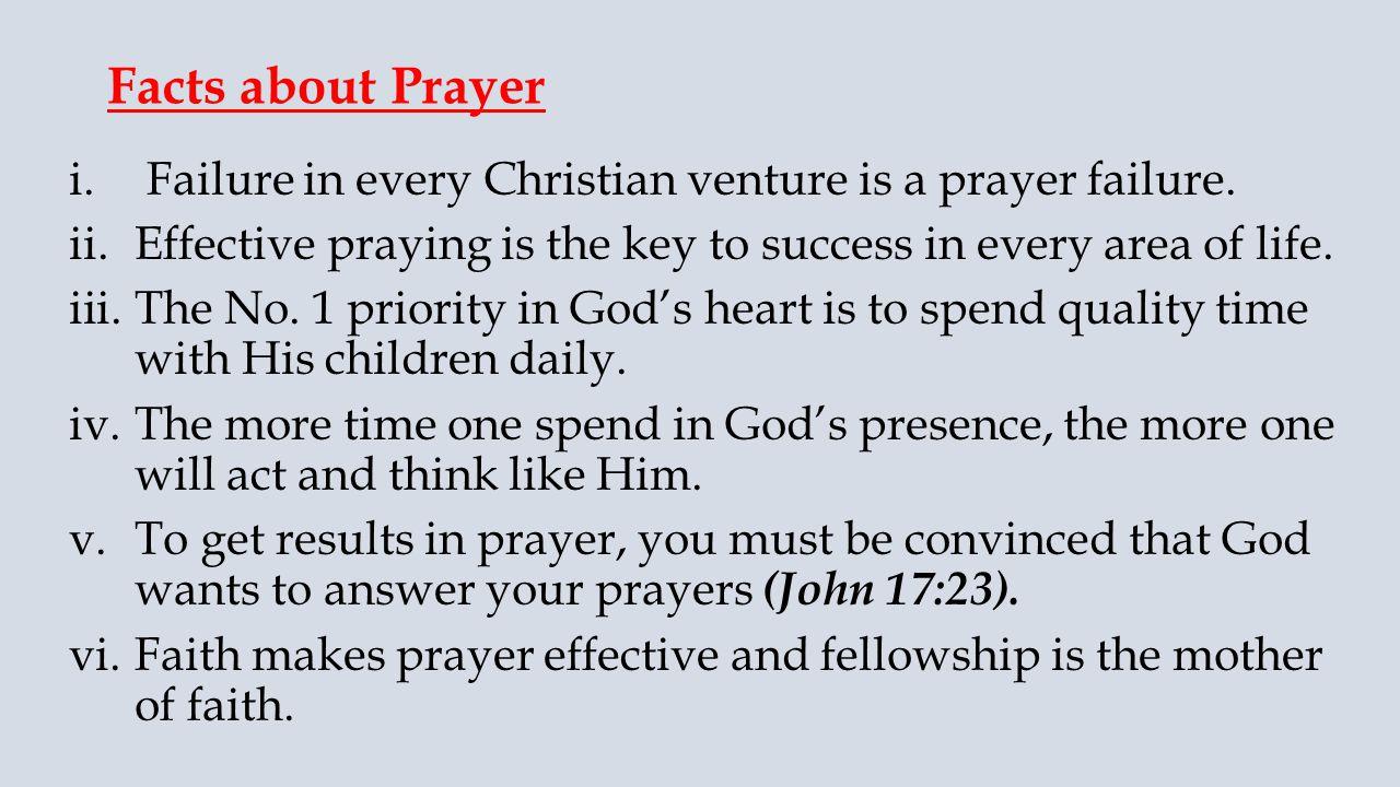 EFFECTIVE PRAYER PART 1  Texts: 2 Chronicles 7: Ephesians 6