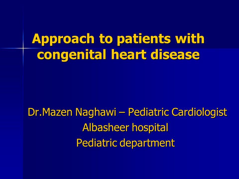 congenital heart disease pediatric case study