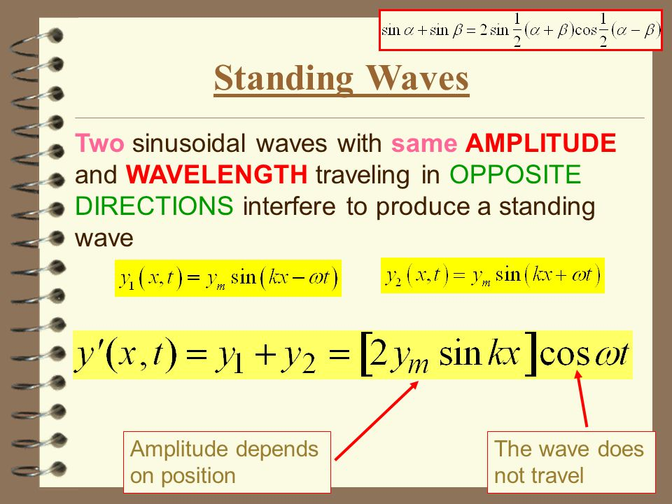 Phasor Addition PHASOR: a vector with the amplitude y m of the wave and rotates around origin with  of the wave When the interfering waves have the same  PHASOR ADDITION INTERFERENCE Can deal with waves with different amplitudes