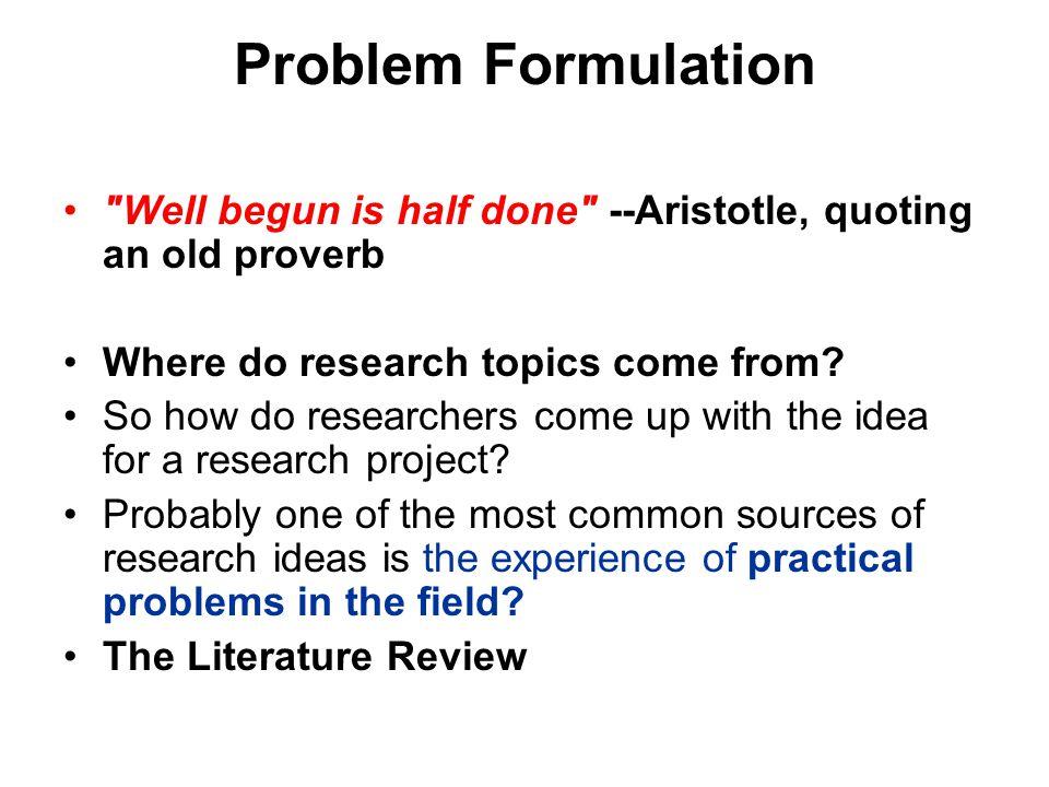 research proposal idea