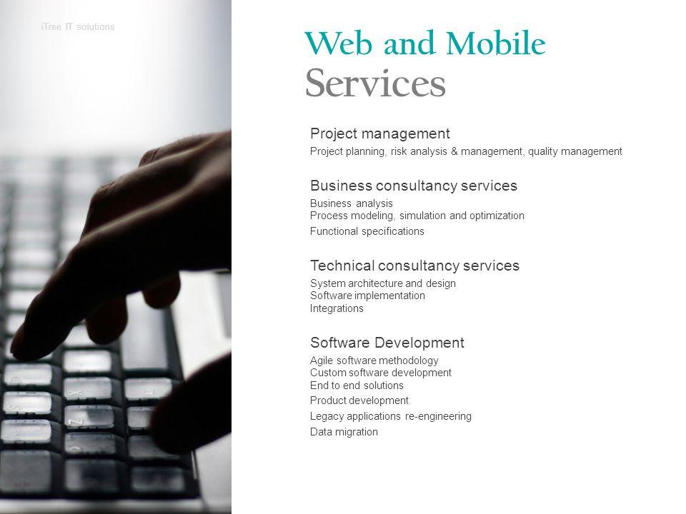 Web & Mobile Development for Enterprise Solution Enterprise projects