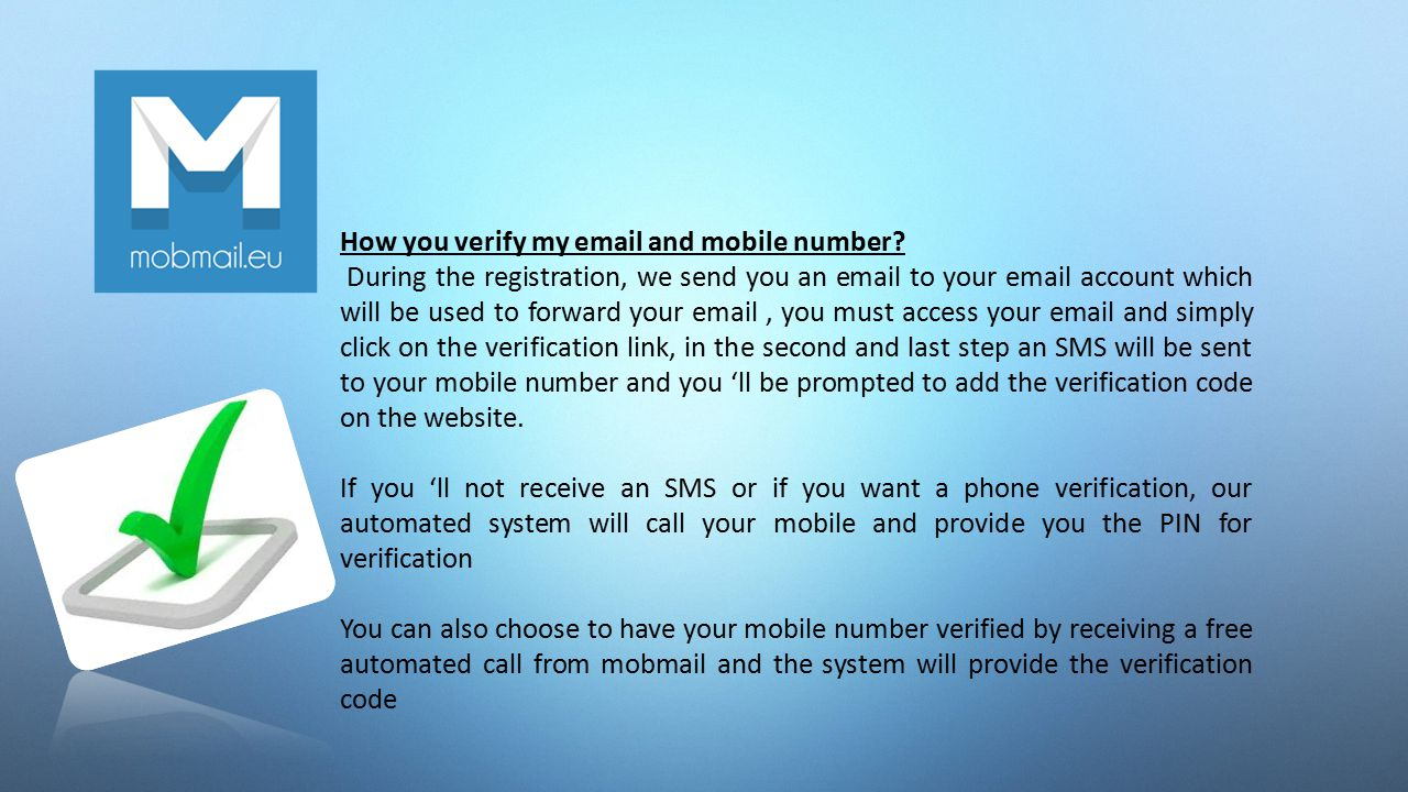 Free Phone Number To Verify Account