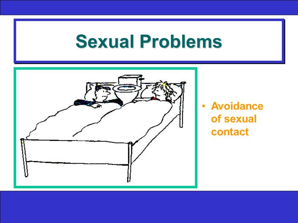 Sexual Problems Avoidance of sexual contact