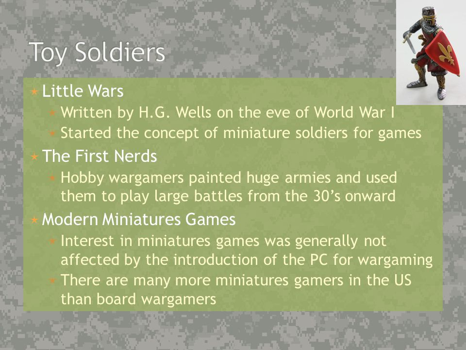 Video Games and the Warfighter   20 Years Military Service