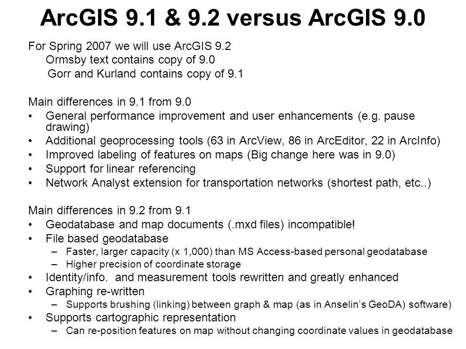 GISC 6382 Applied GIS UT-Dallas Ron Briggs 1 GIS Data