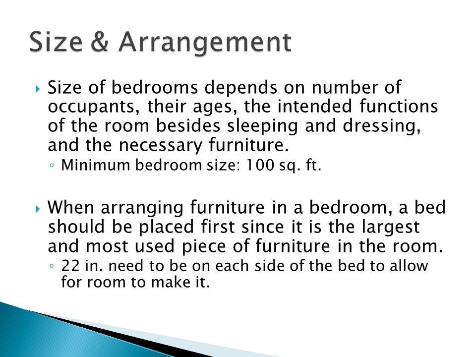 Sleeping Areas Bedrooms Bathrooms Dressing Rooms And Nurseries