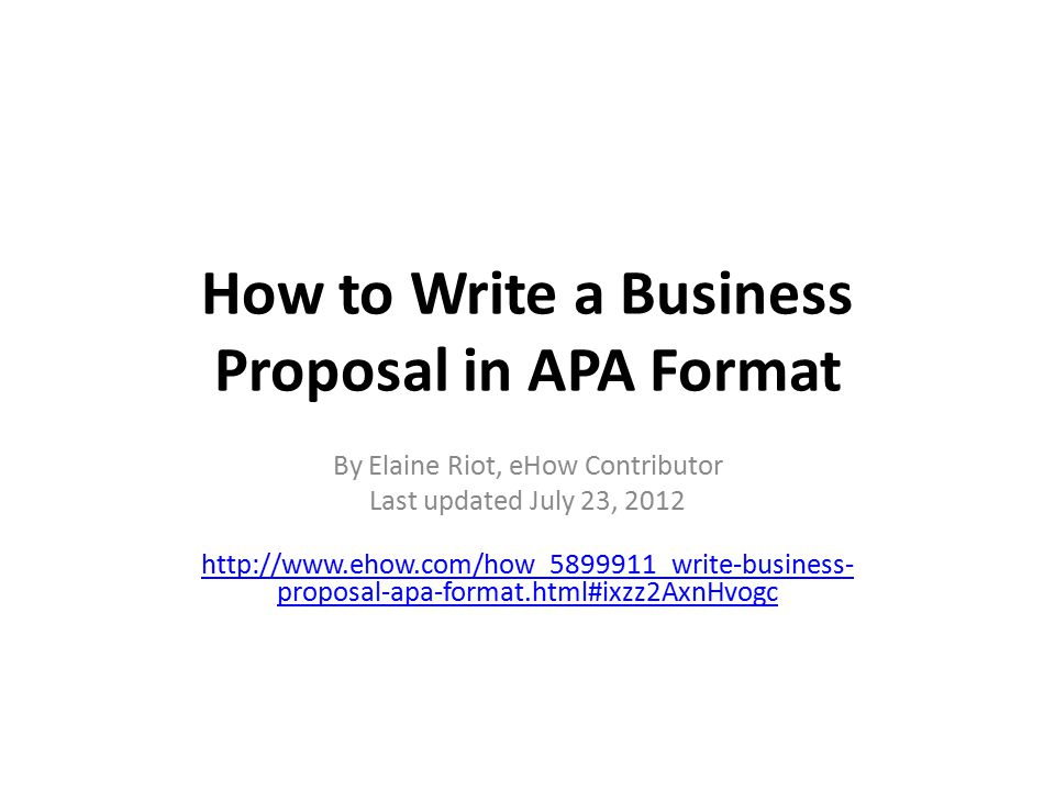 mla and apa writing examples ehow