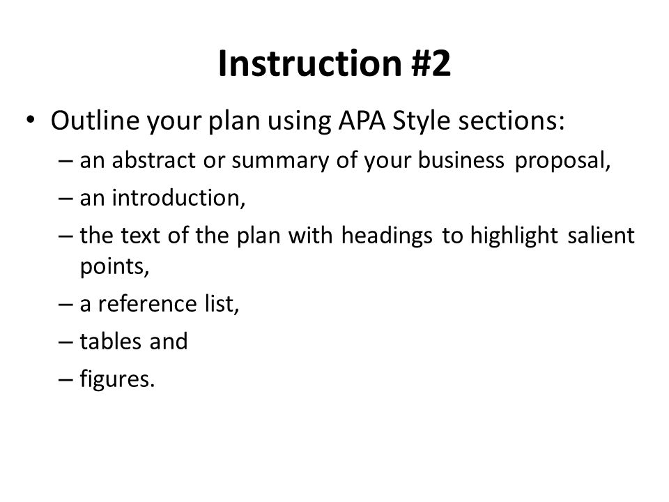 how to write a business proposal in apa format by elaine riot ehow
