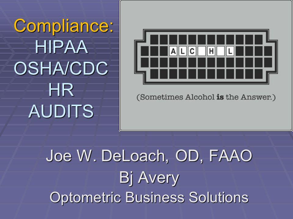 compliance hipaa osha cdc hr audits compliance hipaa osha cdc hr rh slideplayer com Policies and Procedures Manual HIPAA Lock