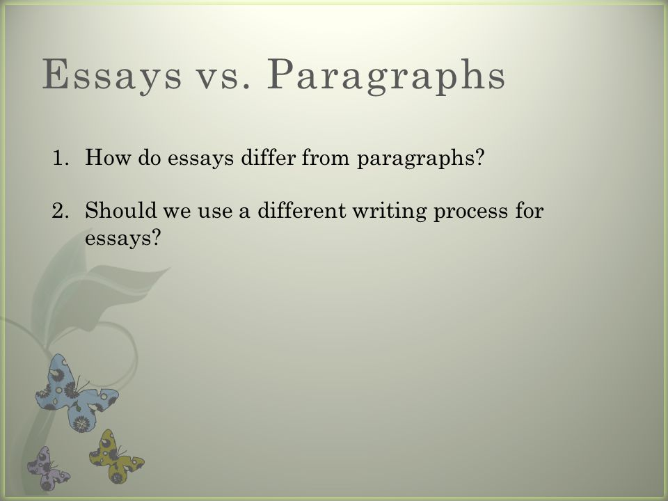 7 essay writing essay writing presentation outline ppt download