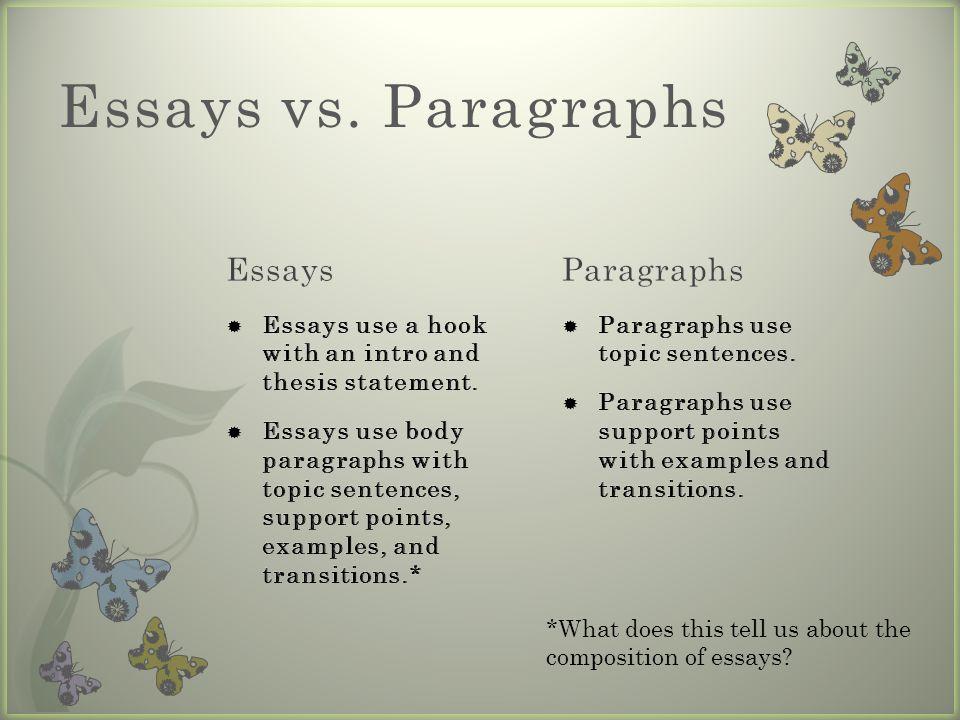 essay writing essay writing presentation outline   ppt download  essays vs