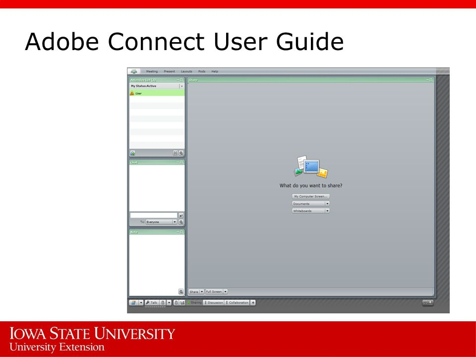 adobe connect user guide adobe connect meeting is an online based rh slideplayer com Adobe Connect Hat Size Logo Skype and Adobe Connect