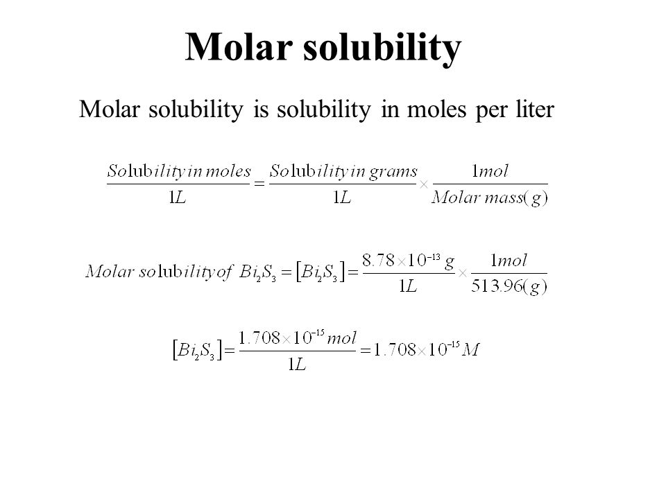 Solubility Product and Common ion effect Experiment #9  - ppt download