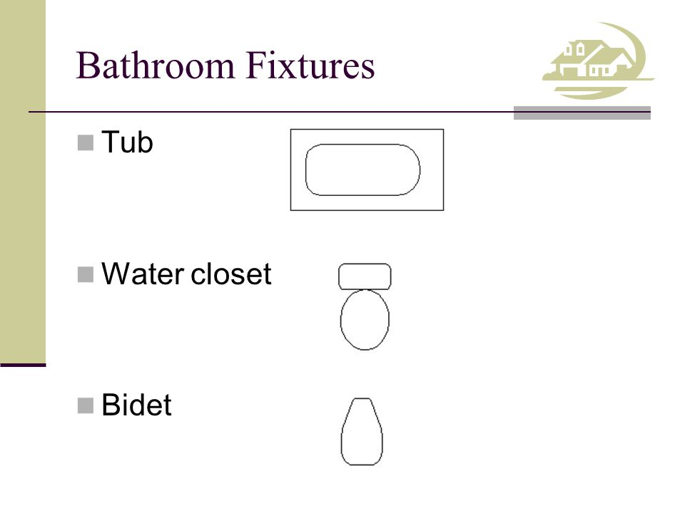 6 Bathroom Fixtures Tub Water Closet Bidet