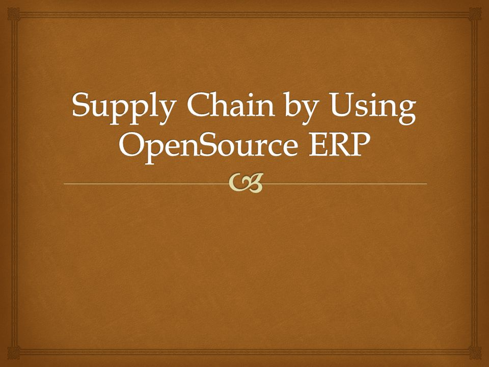 Supply chain management software is implemented by companies to