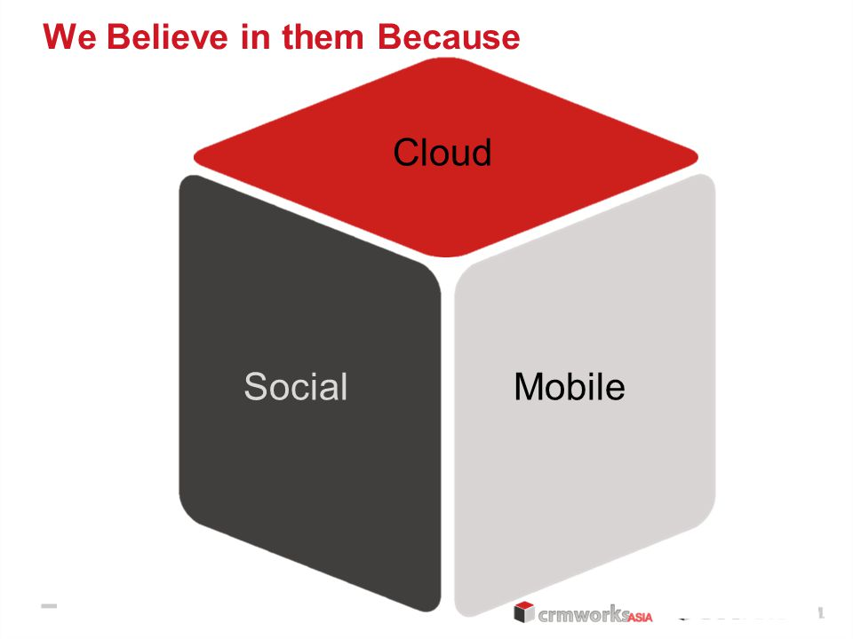 Flexible Intuitive Open SocialMobile Cloud We Believe in them Because