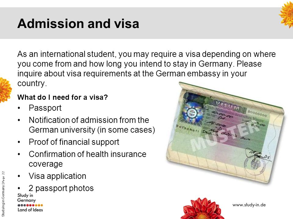 Welcome to the Land of Ideas! Study and Research in Germany  - ppt