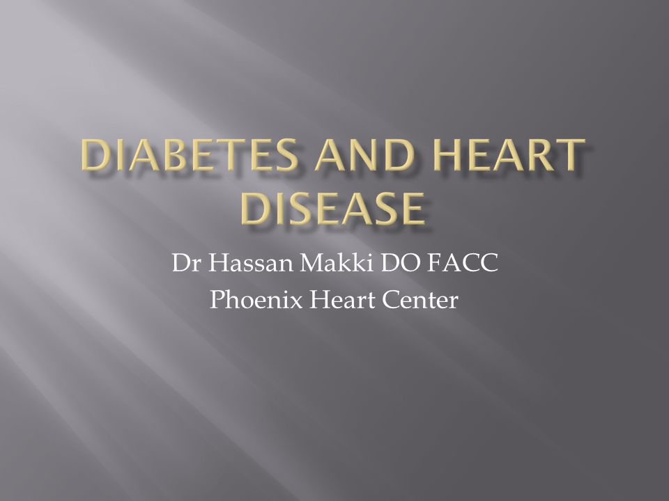 Dr Hassan Makki DO FACC Phoenix Heart Center