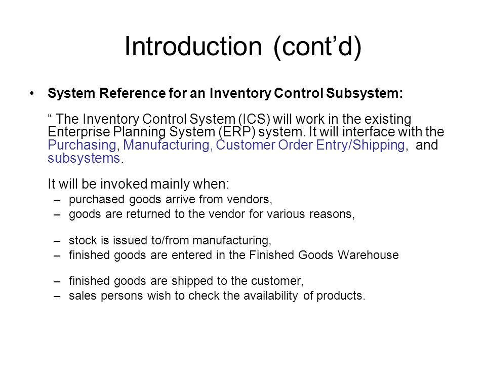 SRS Example  Overview of a Software Specification Document