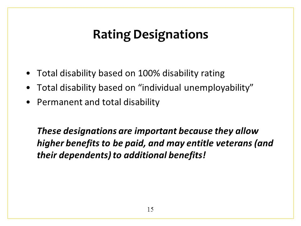 Providing WIPA Services to Veterans with Disabilities Part 2 May 19