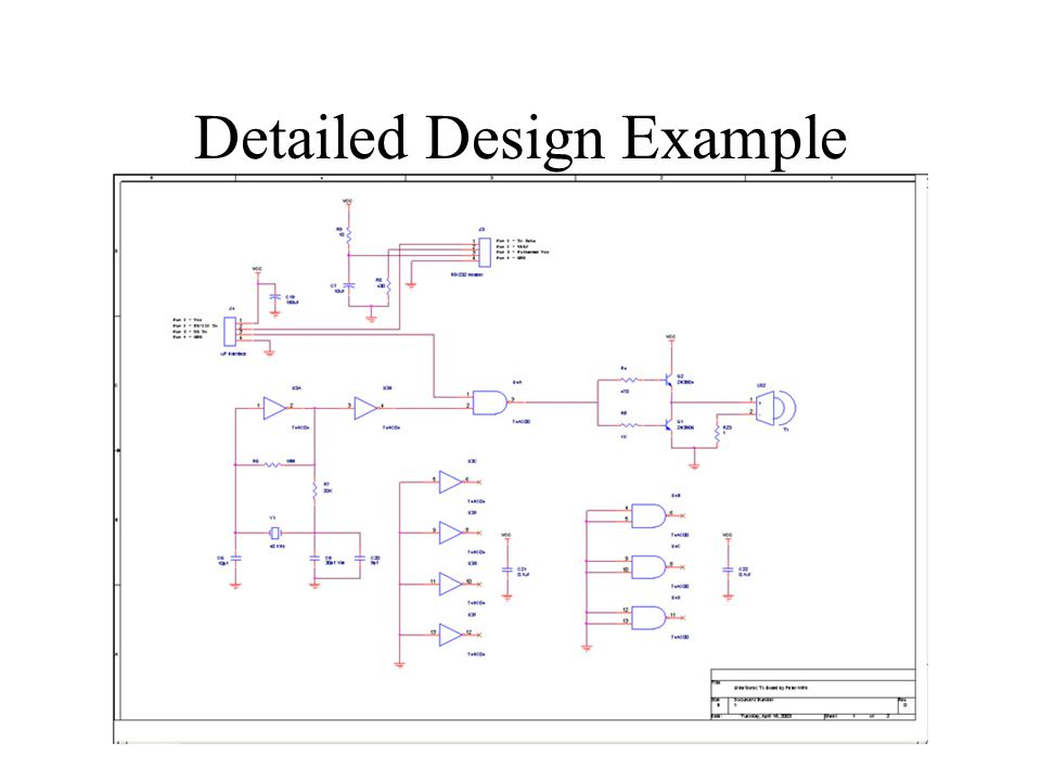 Detailed Design Example