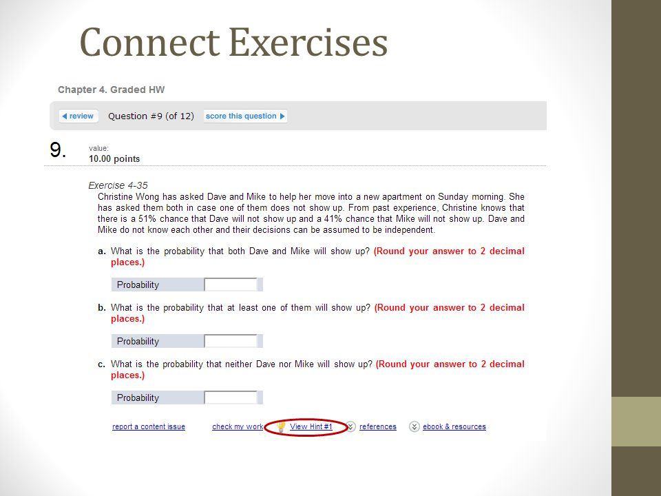 Aplia connect mystatlab or wileyplus which one is right for you 17 connect exercises fandeluxe Image collections
