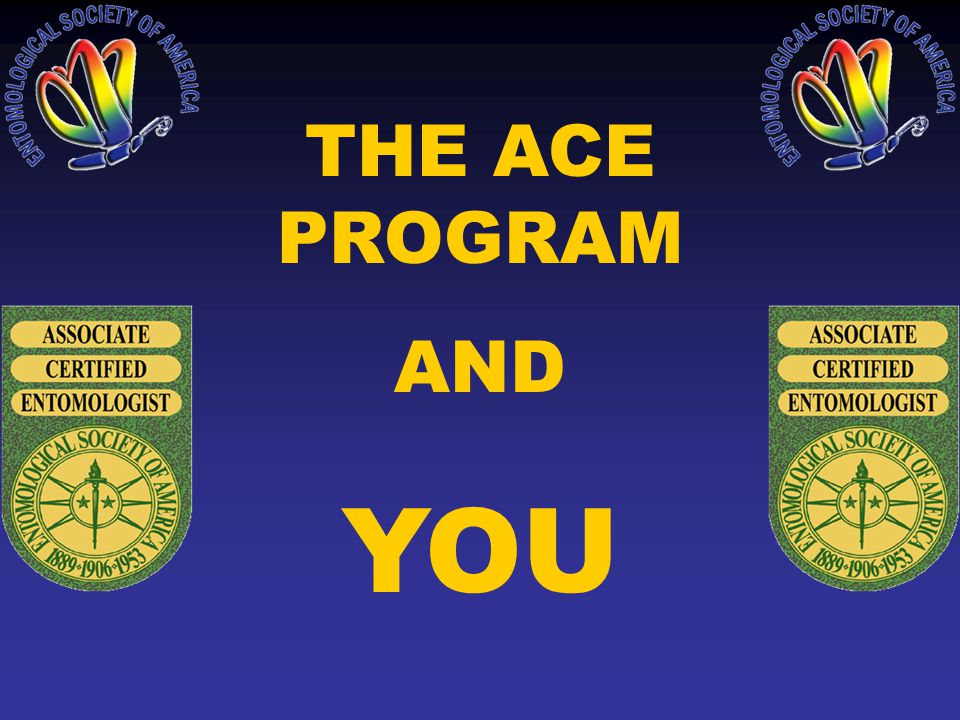 The Ace Program And You What Is Certification Esa Conducts A