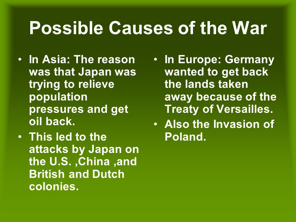 World War II World War II Facts Started on Sep  3,1939