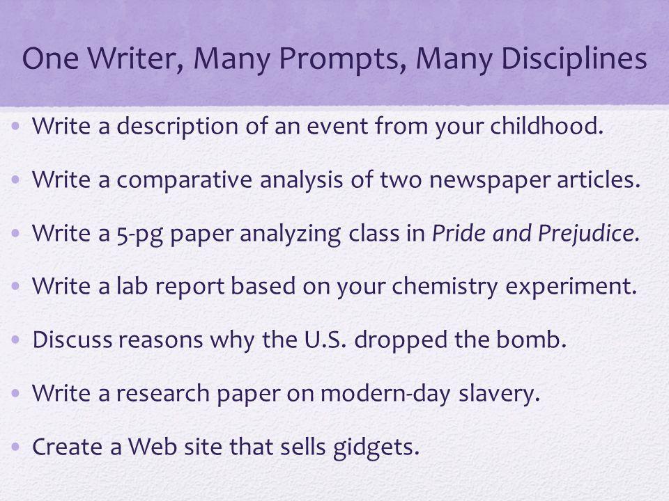 working alone essay descriptive