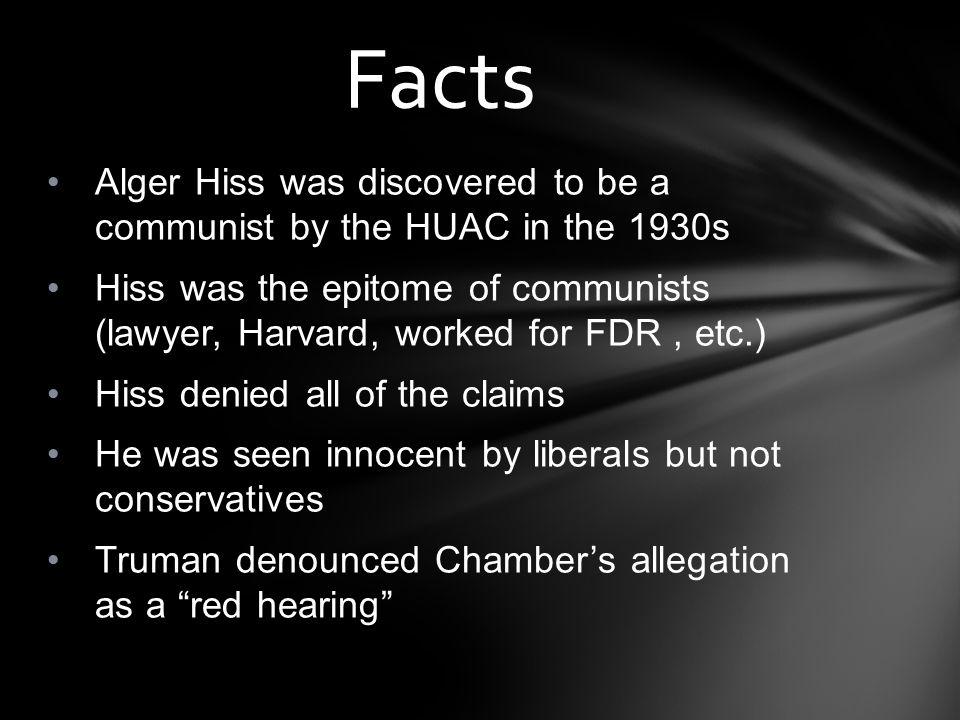 alger hiss definition