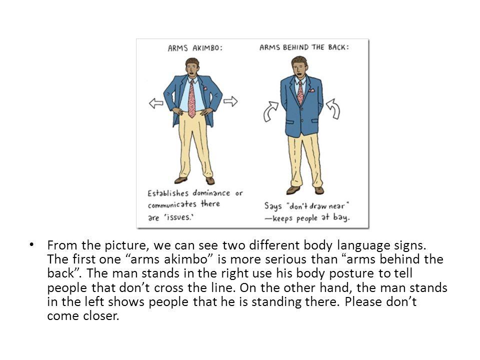 simple body language