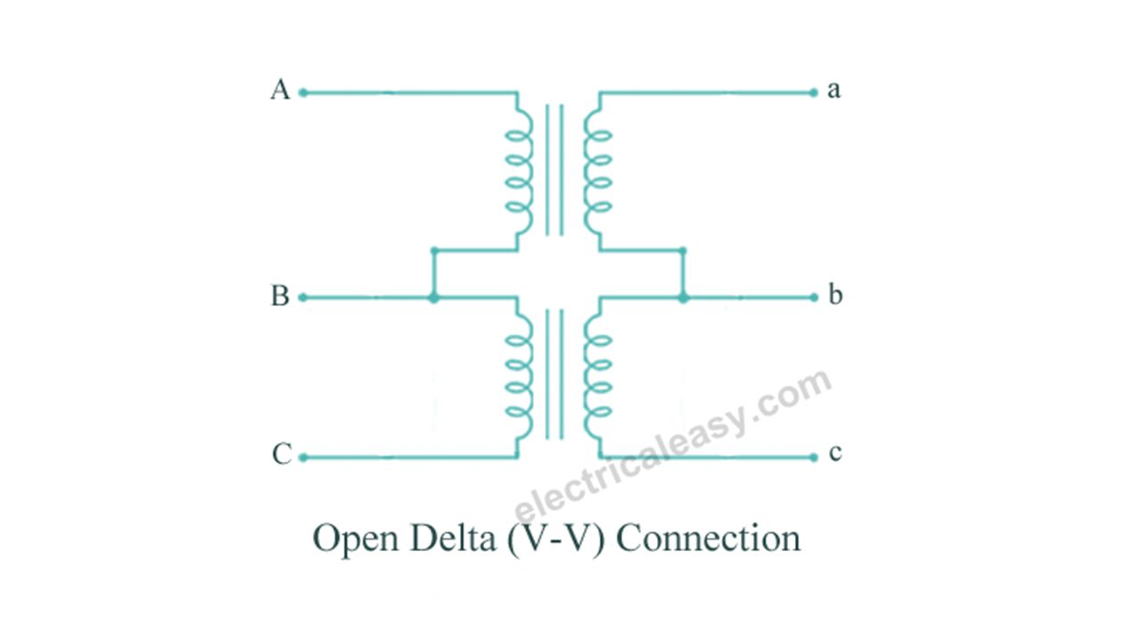 Open Delta Transformer Bank Wiring Diagram Schematic Diagrams Chapter Ppt Video Online Download