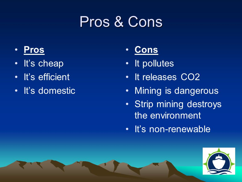 pros and cons of pollution If you're not sure which side you should be on, take a look at the pros and cons of nuclear power plants 1 they produce less pollution compared to other energy sources, nuclear power plants produces fewer amounts of methane and carbon dioxide, which are highly efficient in trapping heat in.