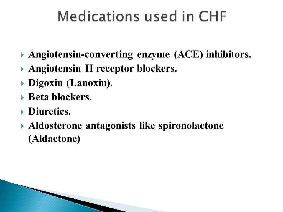  Angiotensin-converting enzyme (ACE) inhibitors.  Angiotensin II receptor blockers.