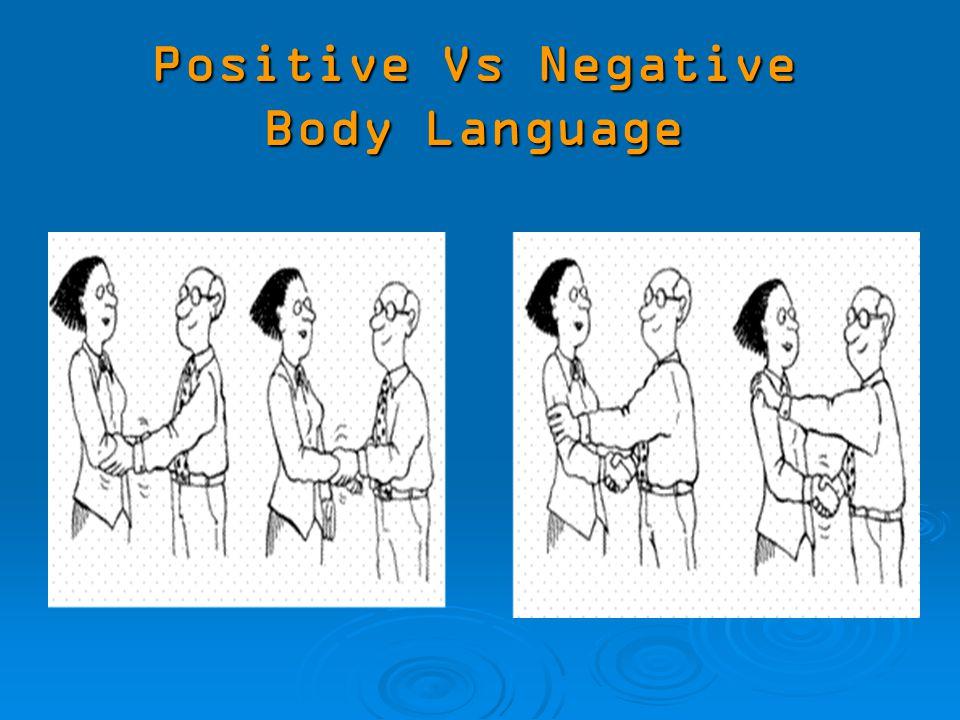 positive and negative body language