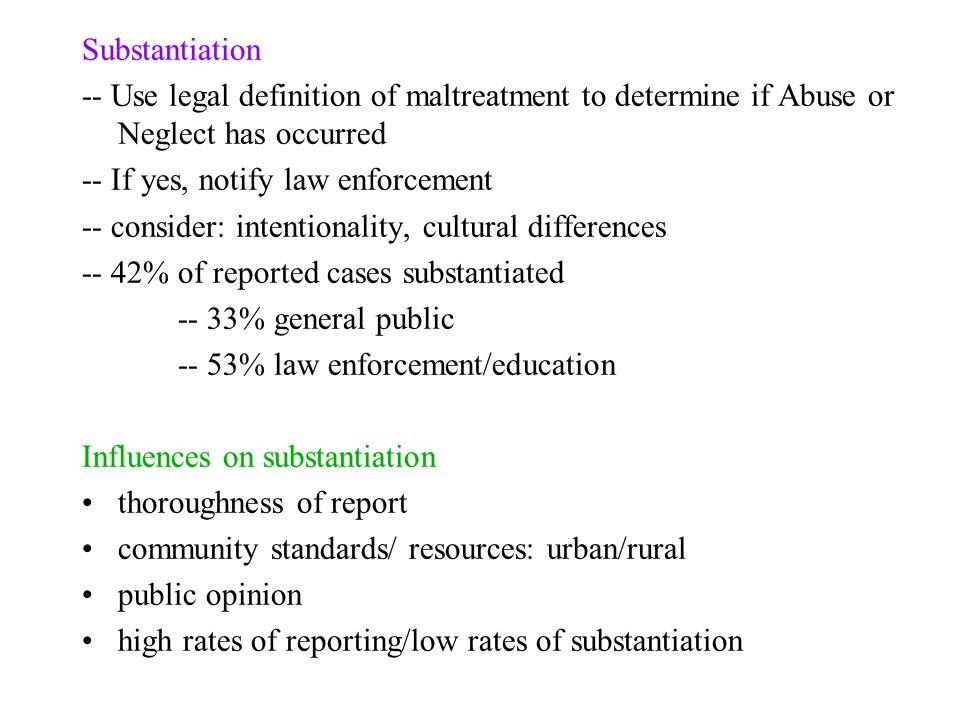 Child Maltreatment 1  Why is maltreatment a major public