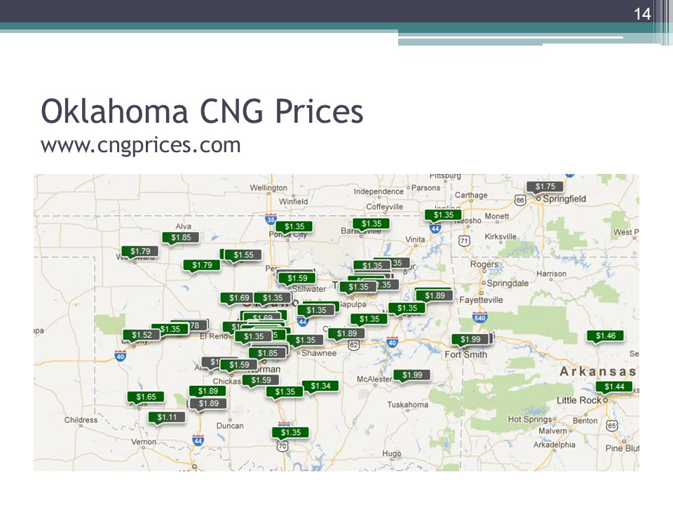 Oklahoma CNG Prices   14