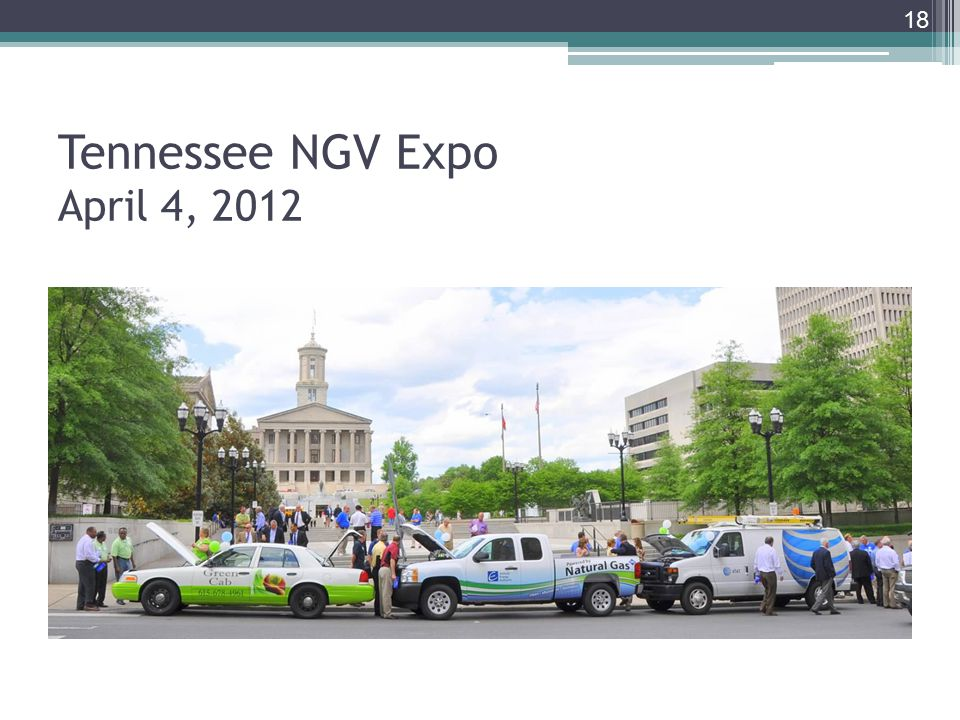 Tennessee NGV Expo April 4,